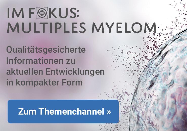 IM FOKUS Multiples Myelom Content Ad