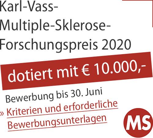 Ausschreibung Karl Vass MS Forschungspreis Content Ad
