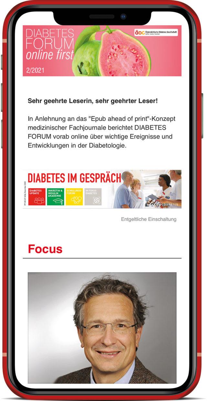 Melden Sie sich jetzt zum Diabetes Forum Newsletter an